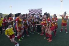Birkirkara FC BOV Women's League Champions 2018/19. Photos courtesy of Bank of Valletta