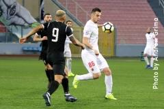 Hibernians vs Valletta 20/01/2019. Photos: Copyright © Andrew Grima