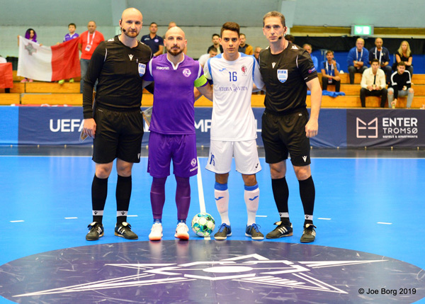 Luxol Futsal vs FC Fiorentino 28/08/2019 Photo: Copyright © JOE BORG
