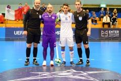 Luxol Futsal vs FC Fiorentino 28/08/2019 Photo: Copyright © JOE BORG