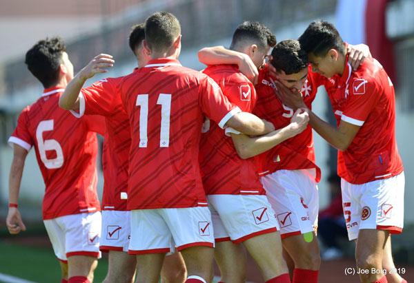 Malta Under-16 vs Albania Under-16 04/03/2019. Photos: Copyright © Joe Borg/MFA