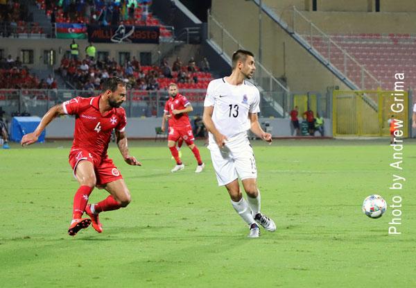 MALTA VS AZERBAIJAN 10/9/2018. PHOTOS: COPYRIGHT ANDREW GRIMA
