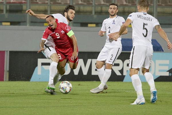 MALTA VS AZERBAIJAN 10/9/2018. PHOTOS: COPYRIGHT MARK GALEA