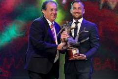 Andrei Agius Footballer of the Year. Photo: © Domenic Aquilina/MFA