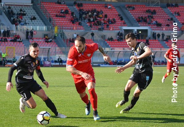 Qormi vs Balzan 20/01/2019. Photos: Copyright © Andrew Grima