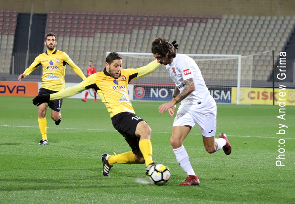 Qormi vs Valletta 08/02/2019. Photos: Copyright © Andrew Grima