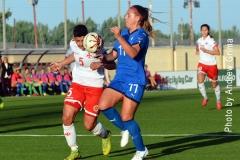 UEFA Women's EURO Malta vs Italy 04/10/2019 Photo: Copyright © Andrew Grima