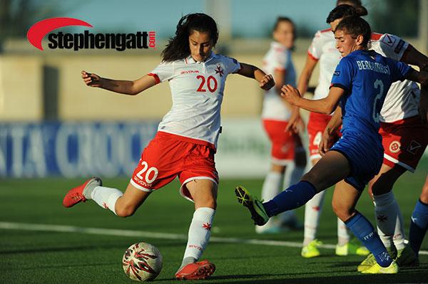 UEFA Women's EURO Malta vs Italy 04/10/2019 Photo: Copyright © www.stephengatt.com