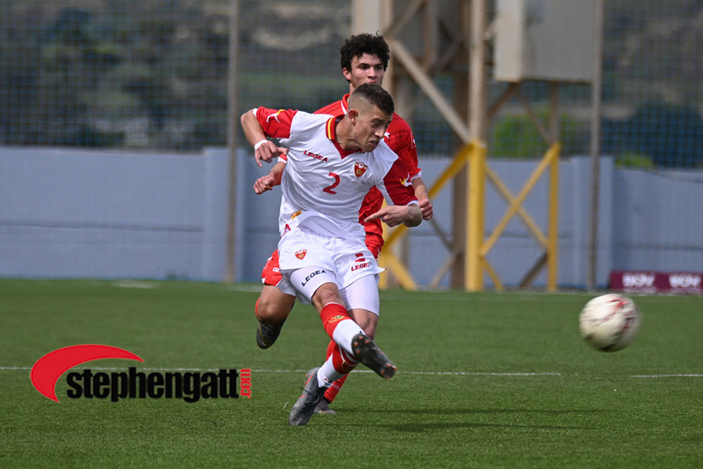 Under-19: Malta vs Montenegro 10/03/2020. Photo: Copyright © www.stephengatt.com