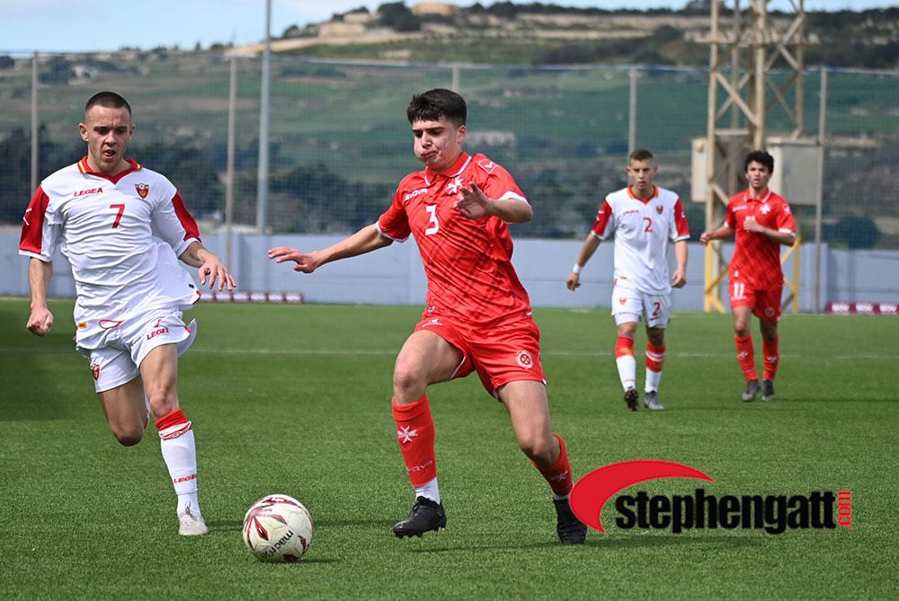 Under-19: Malta vs Montenegro 10/03/2020. Photo: Copyright © www.stephengatt.com