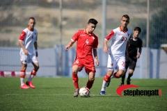 Under-19: Malta vs Montenegro 12/03/2020. Photo: Copyright © www.stephengatt.com