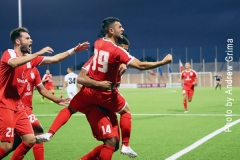Valletta vs F91 Dudelange 16/07/2019. Photo: Copyright  © Andrew Grima