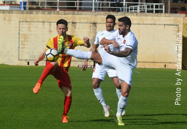 Valletta vs Senglea A. 16/02/2019. Photos: Copyright © Andrew Grima