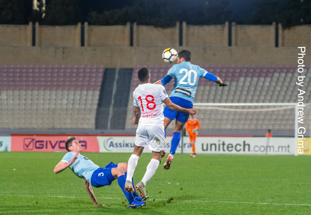 Valletta vs Sliema W. 20/01/2020 Photo: Copyright © Andrew Grima