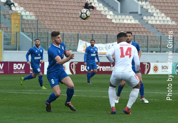 Valletta vs Tarxien R. 20/04/2019. Photo: Copyright  © Andrew Grima