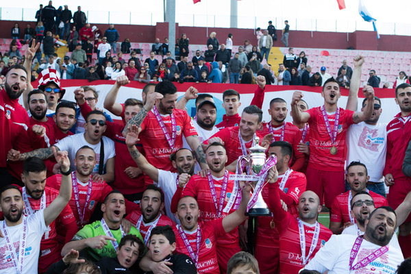 Zurrieq FC BOV Third Division Champions 2018/19 Photos courtesy of Bank of Valletta